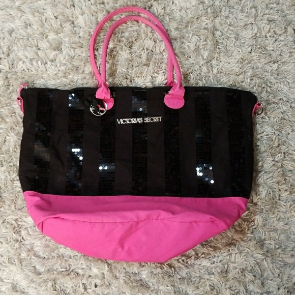 Victoria's Secret Handbags - Pink Sparkly Bag